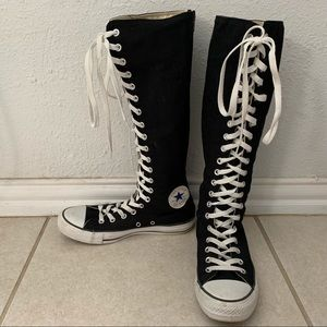 e781e48a38cd1c Women s Converse Knee High Shoes on Poshmark